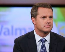 Walmart CEO Doug McMillon Named 'CEO of the Year'