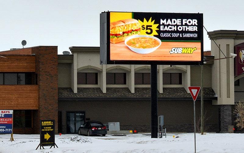 Electronic Billboard Signs