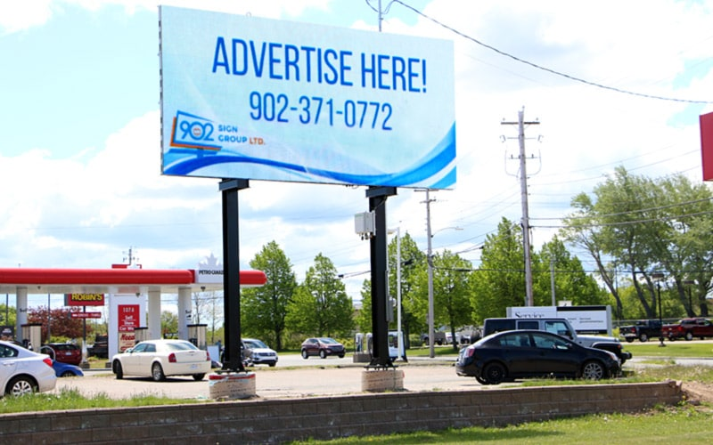 Outdoor LED Billboard Advertising