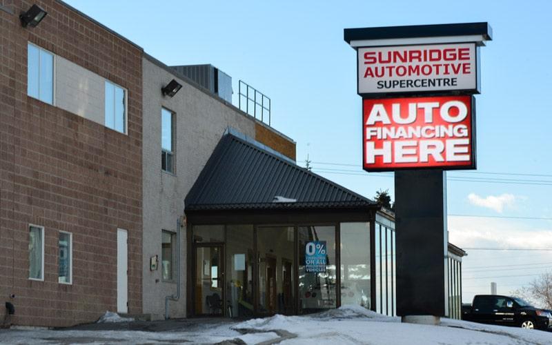 SUNRIDGE AUTOMOTIVE - Calgary, AB