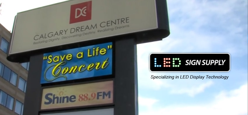 Outdoor Signage - LED Digital Signs and Billboards