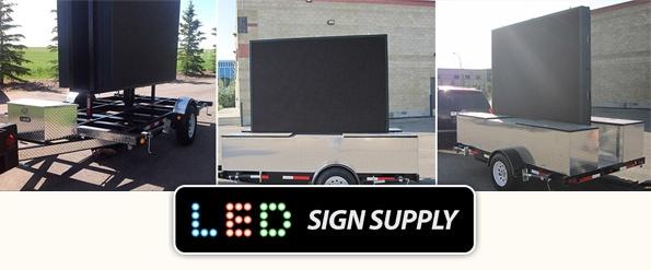 Mobile LED Billboards - LED Sign Supply