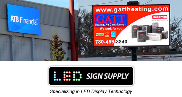 LED Sign Supply Billboards and Advertising