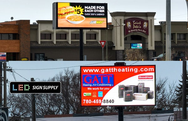 Custom LED Billboards