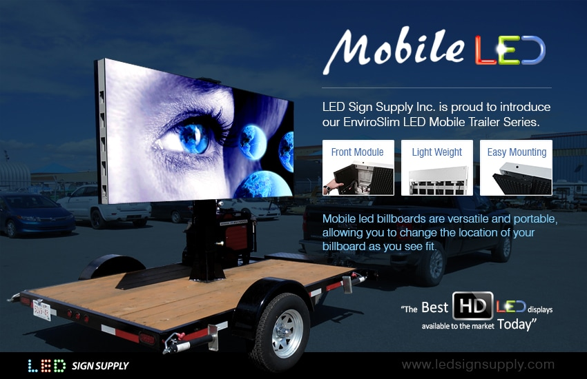 Mobile LED Advertising