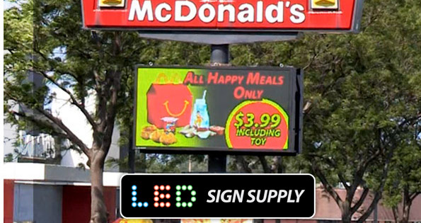 LED Sign Prices