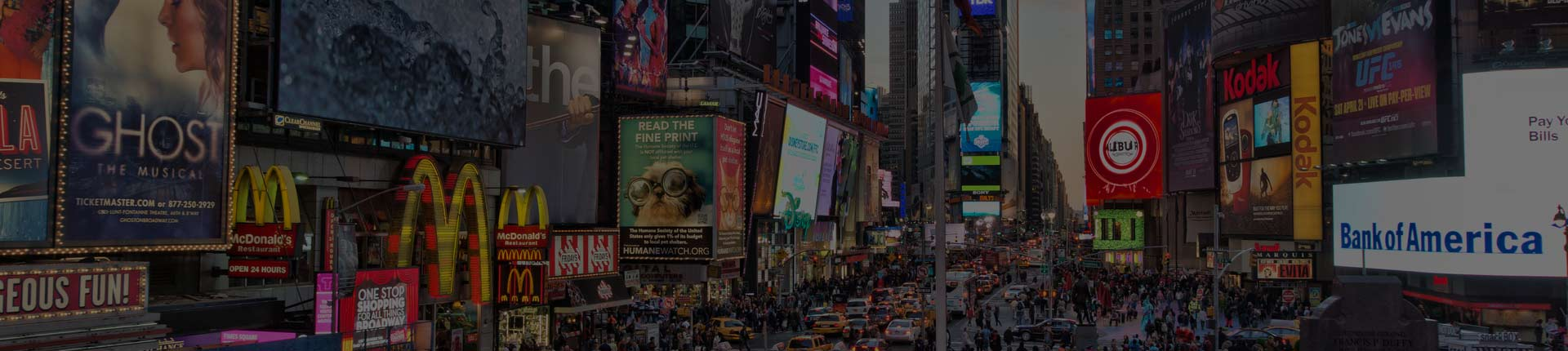 New York LED Billboard Company - Advertising
