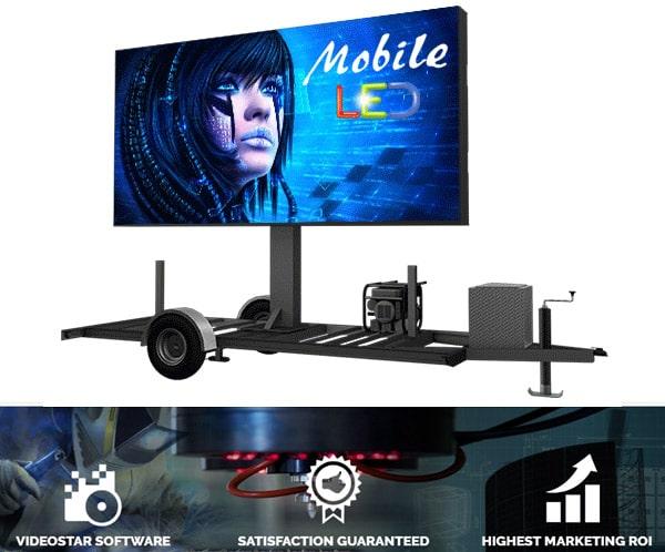 Mobile LED Billboard Trailers