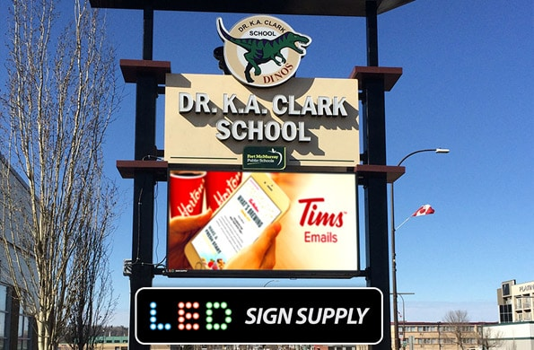 School LED Signs - Message Boards