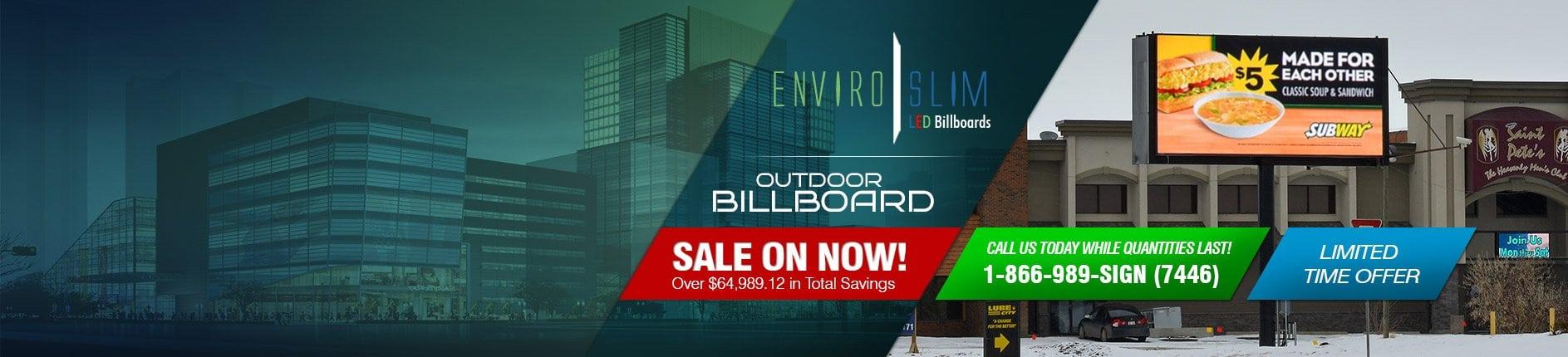 Outdoor LED Billboards