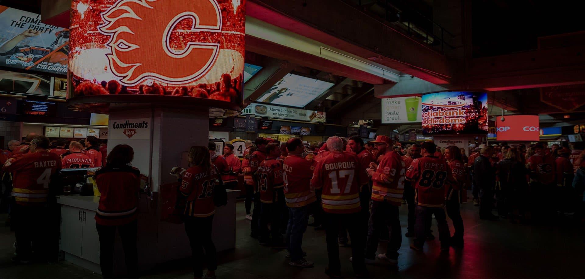 Calgary Flames LED Screen
