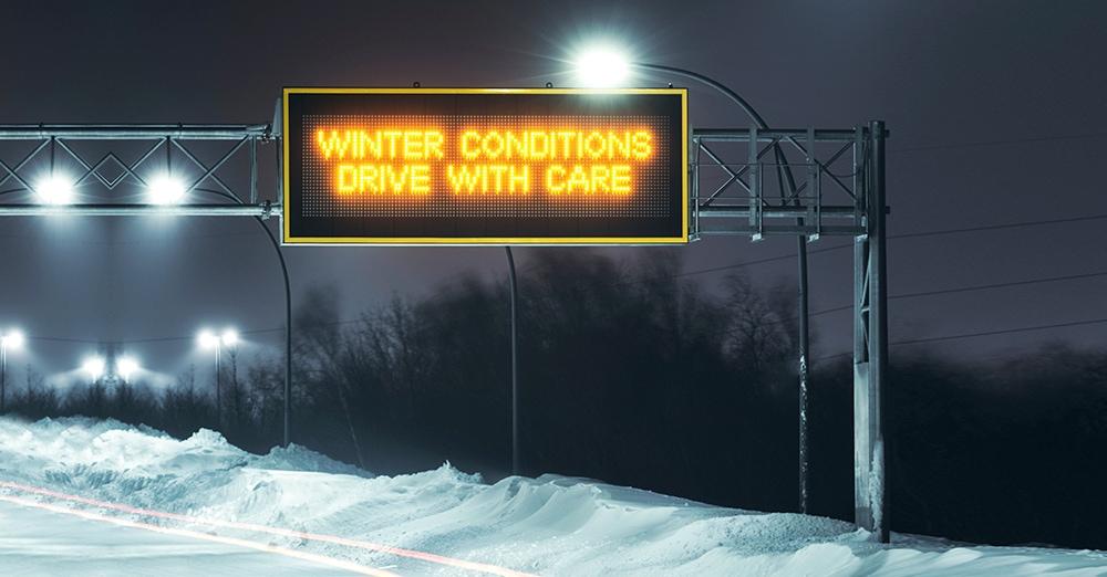 Roadside LED Message Displays