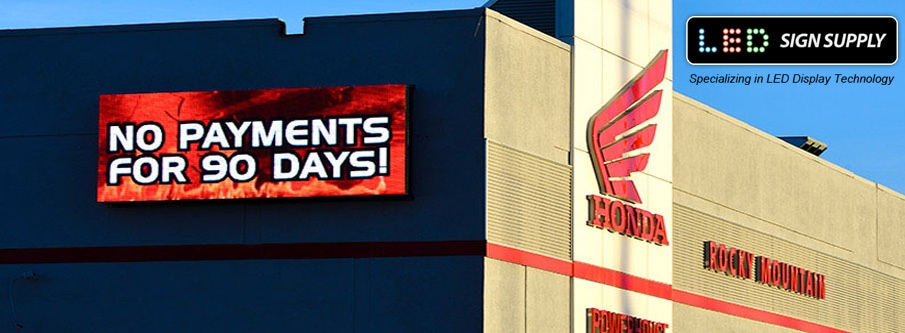 Do storefront electronic signs help business?