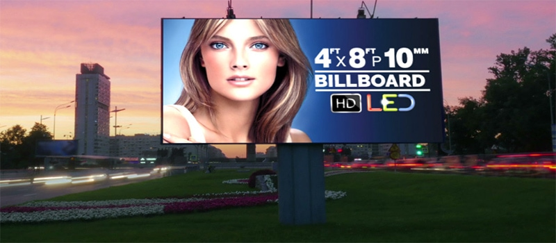 Outdoor LED Billboard - Advertising Power