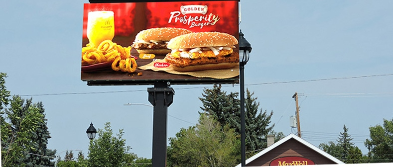Lease LED Billboard Electronic Signs