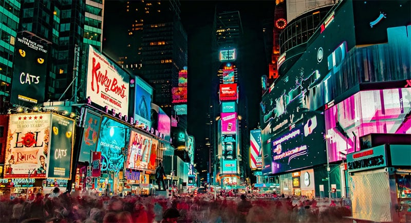 LED Billboard Company and Advertising in New York