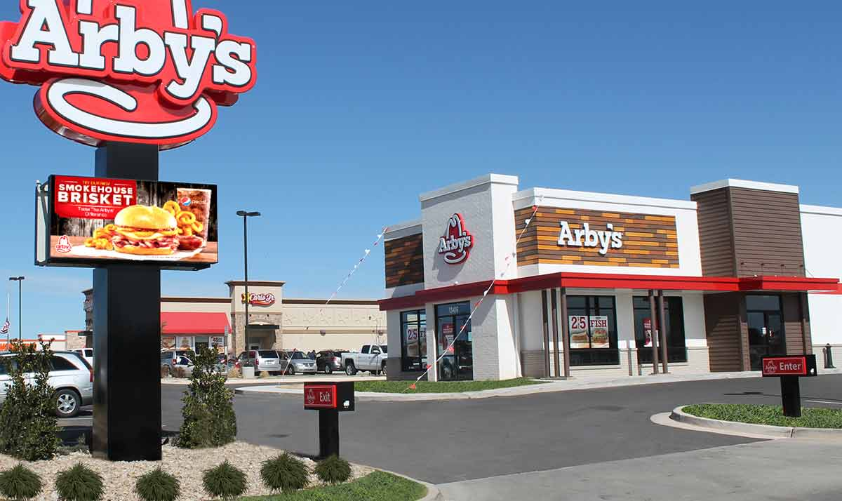 LED Signs for Fast Food Franchises