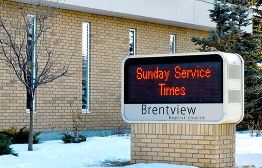Custom Outdoor Church Signs