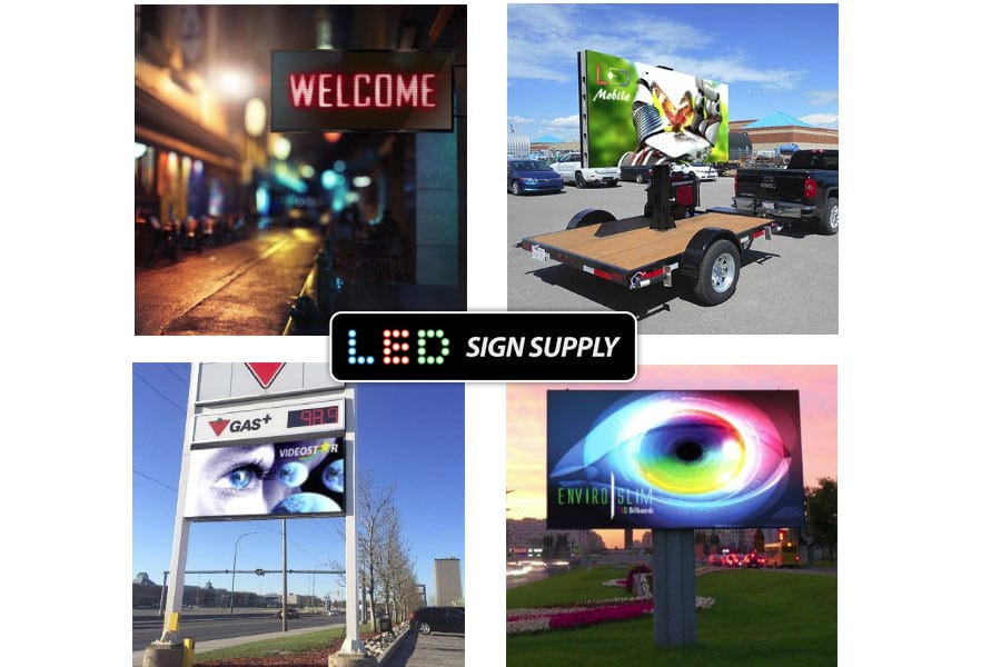 LED Display Signs - USA and Canada