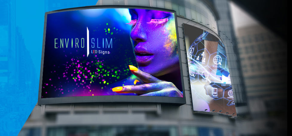 Enviroslim LED Signs - Indoor and Outdoor