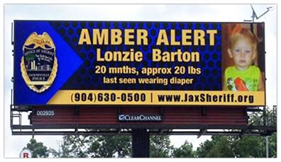 Amber Alert Message Board