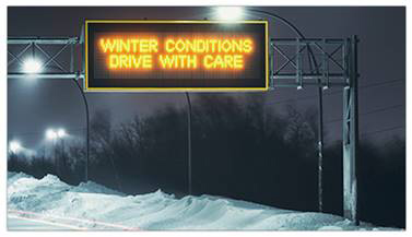 Roadside Emergency Electronic Message Signs