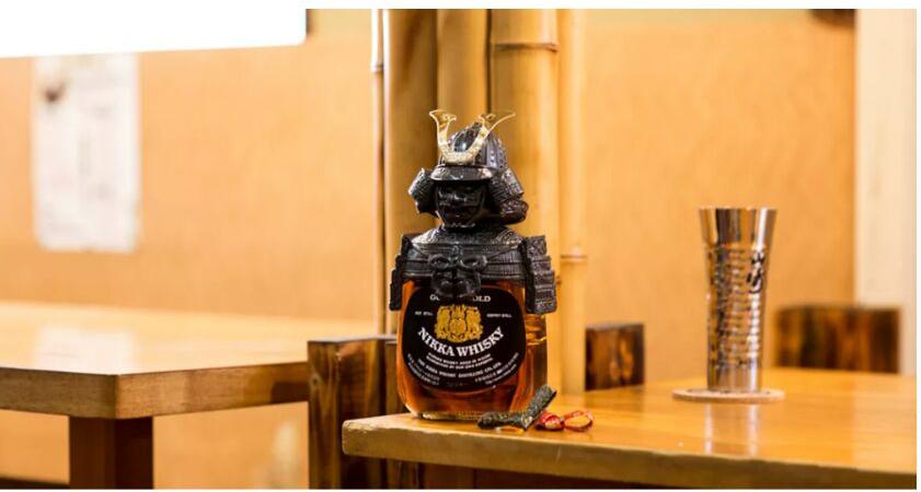 Nikka Gold & Gold Samurai whisky 日本武將威士忌