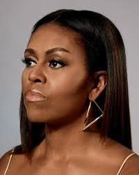 Michelle Obama Brazilian keratin style Uncurly.com