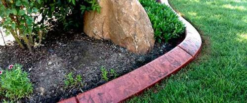 red-textured-curb