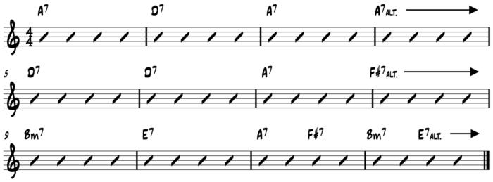 10-20-15 PTC Turning the Corner 12 bar progression