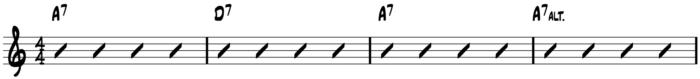 10-20-15 PTC Turning the Corner 12 bar progression - line 1
