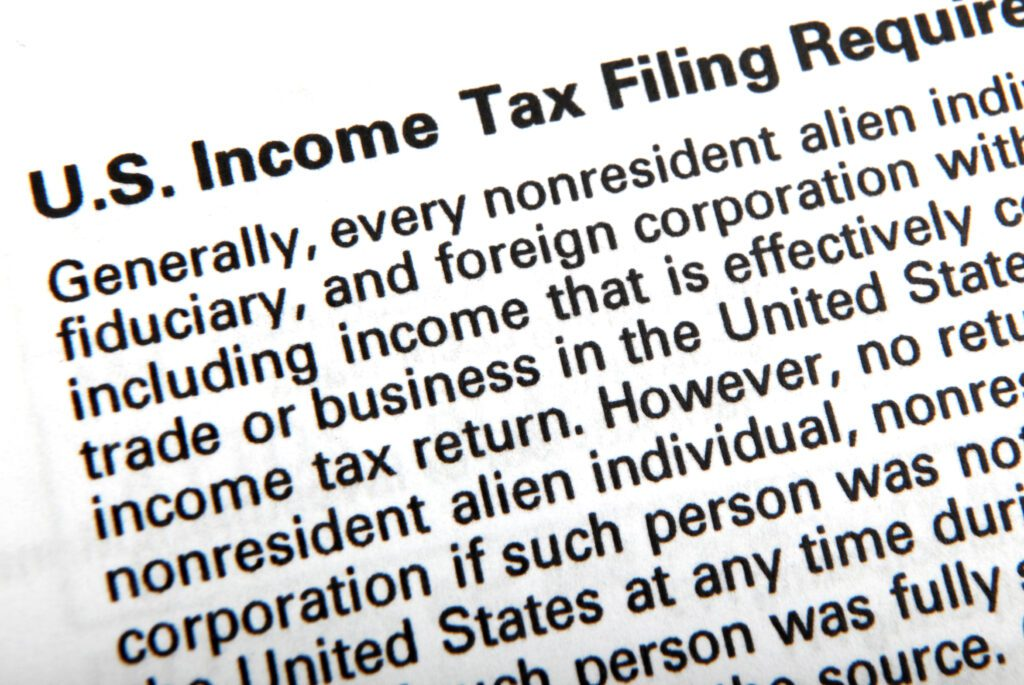 Text from IRS tax code