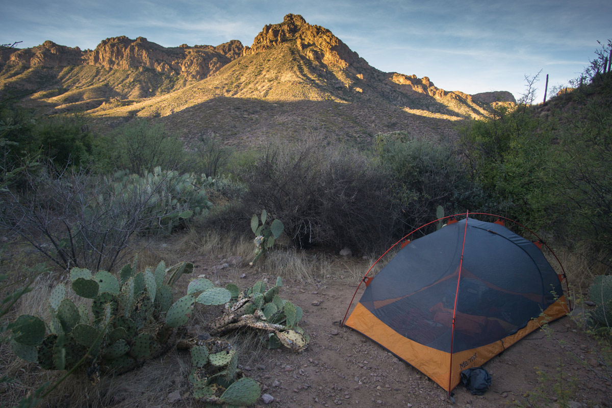 Superstitions Mountain Free Tent Camping Peralta Trail