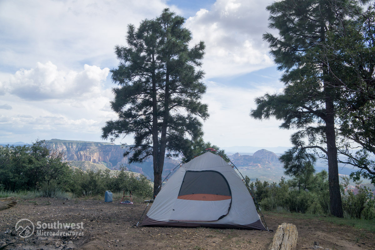 Camping-on-the-Edge-of-the-World-Tent-Flagstaff