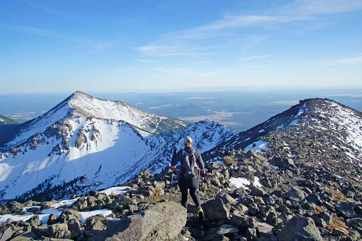 Flagstaff-Hiking-and-Climbing-Humphreys-Peak