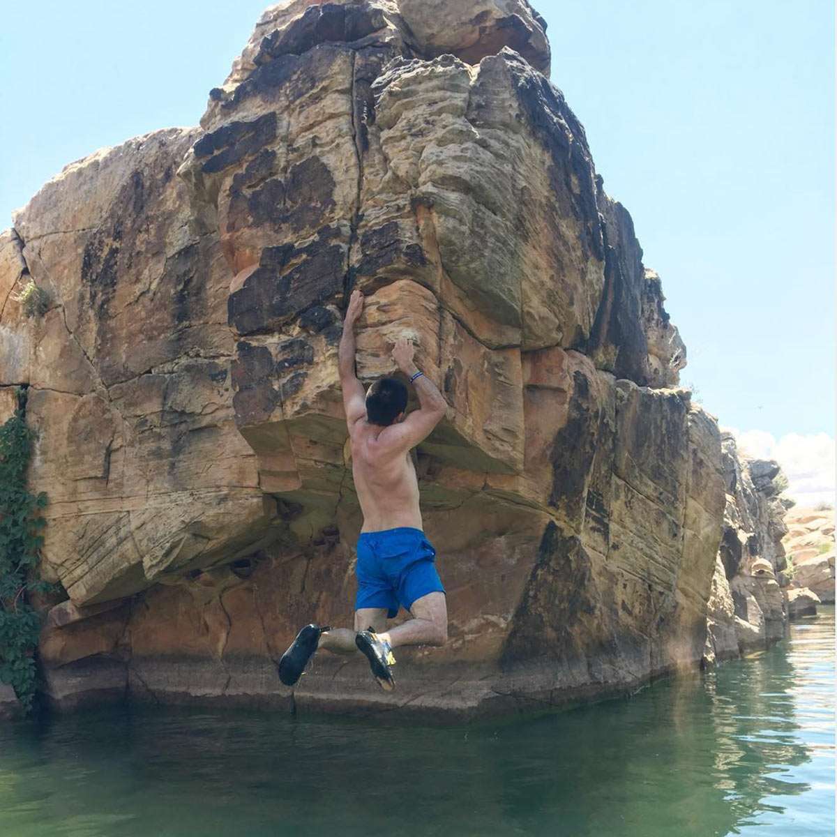 East-Clear-Creek-Winslow-Deep-Water-Soloing-Arizona
