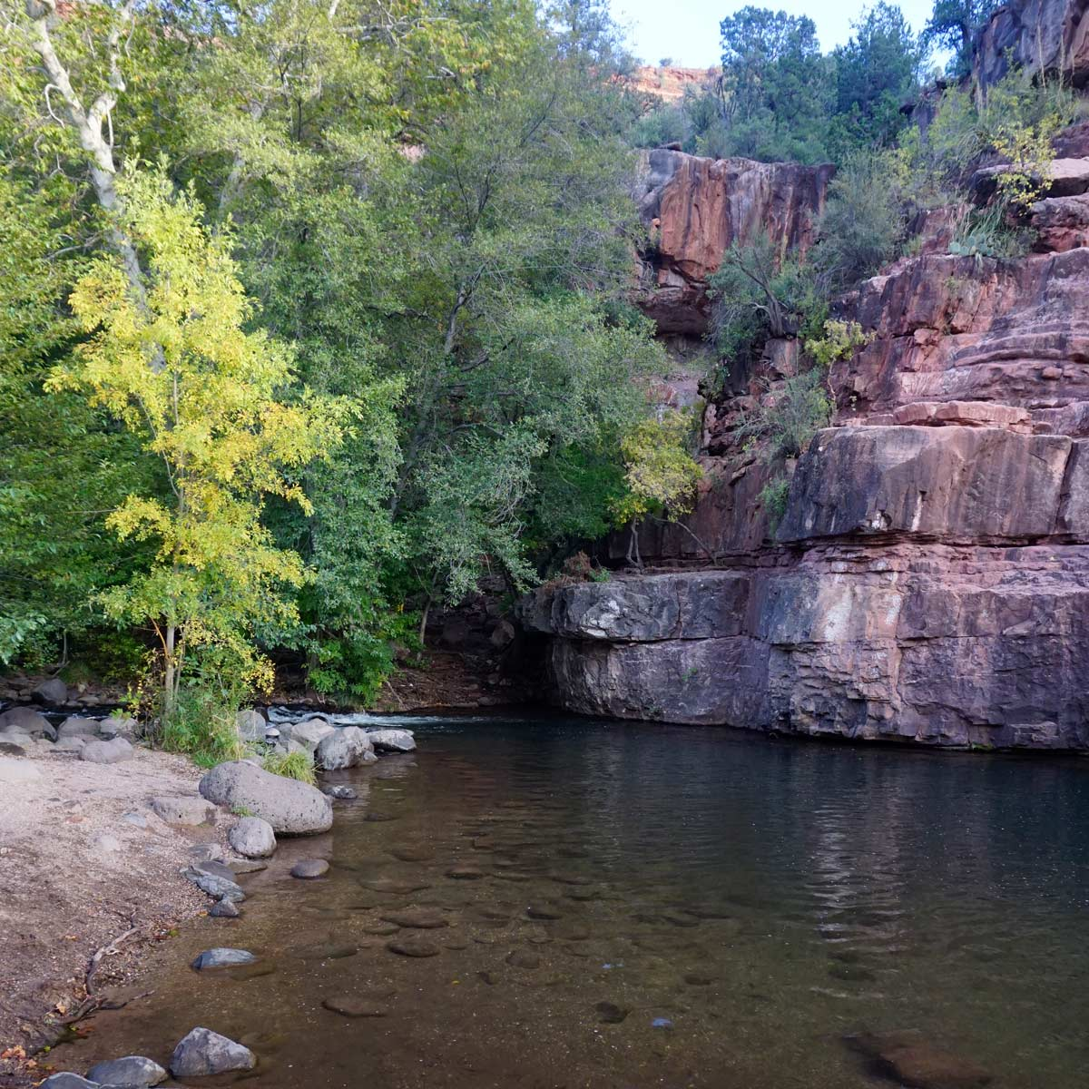 Grasshopper-Point-Swimming-Sedona-Arizona