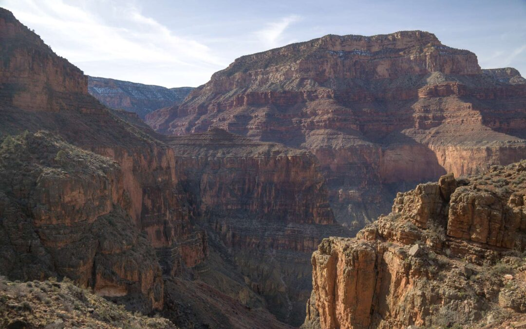 Grand Canyon Hermit Trail and Creek: Photo Gallery