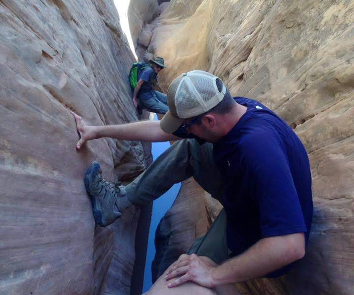 Ding-and-Dang-Slot-Canyon-Hike-Utah