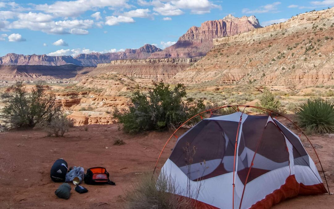Zion Free Dispersed Camping Spots