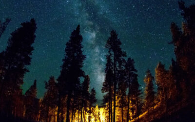 Night-Camp-Tenting-Free-on-Mogollon-Rim-in-Payson-Arizona