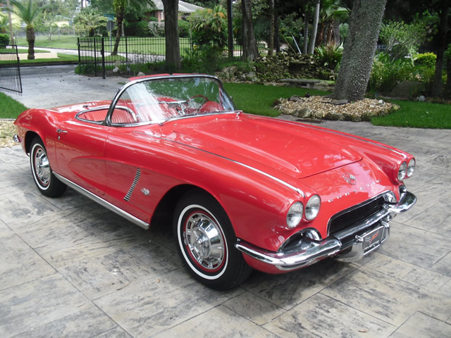 1962 Red with Red Interior 4-Speed