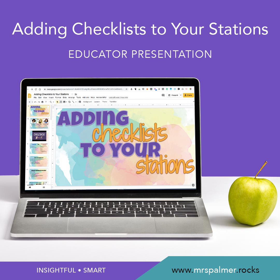 Adding Checklists to Your Stations