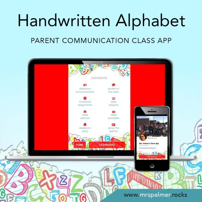 Handwritten Alphabet Class Apps