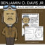 Benjamin O. Davis Jr. Big Head - Black History Activity