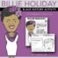 Billie Holiday Big Head - Black History Activity