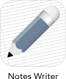 Notes Writer App Icon