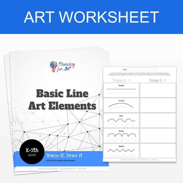 Basic Line Art Elements - Product Image