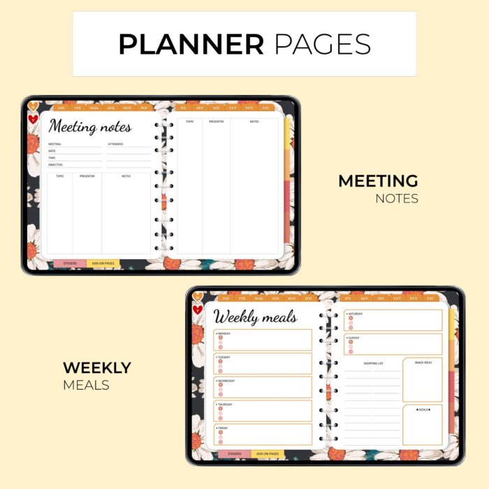 Classic Digital Everyday Planner - Product Images 4