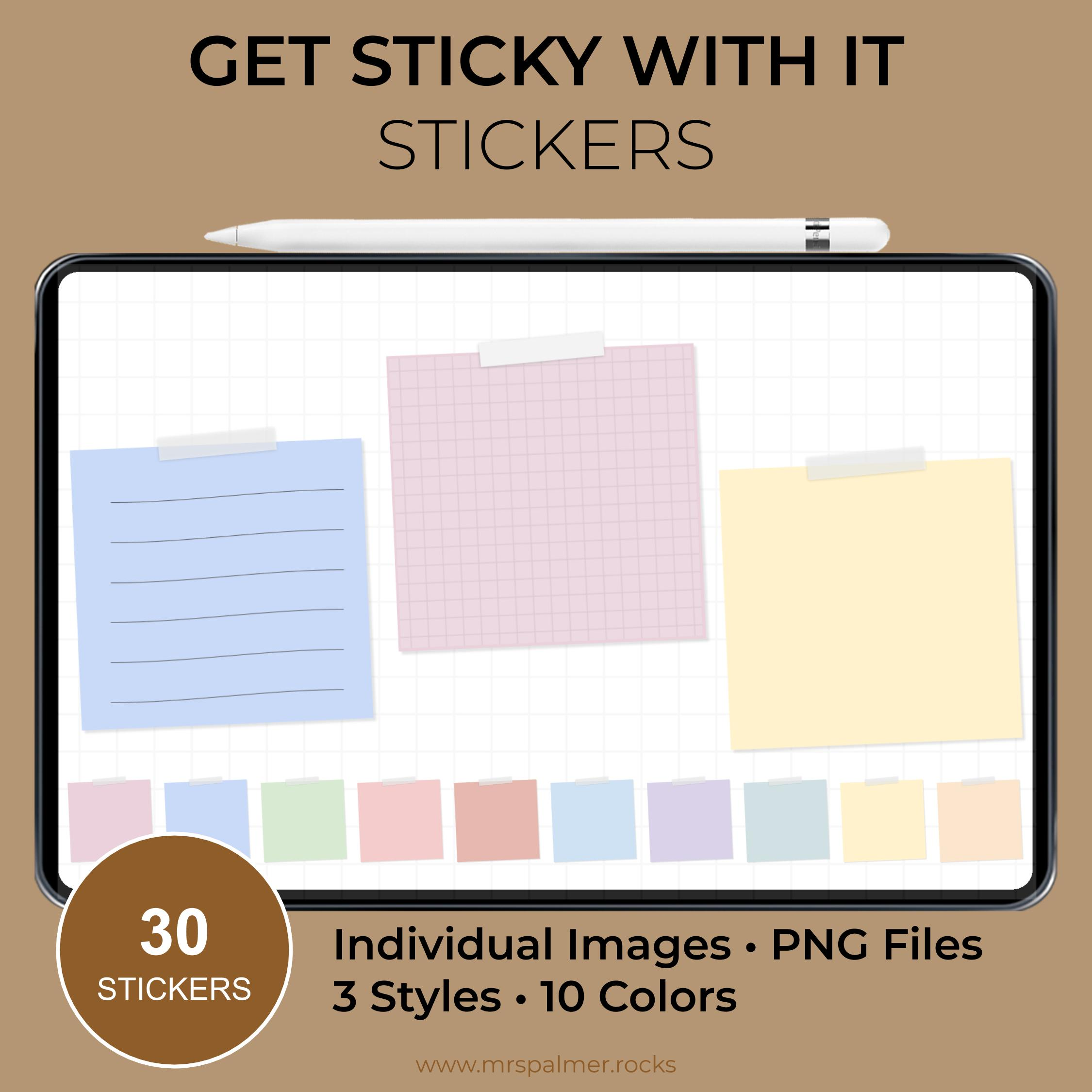 Get Sticky With It Sticker Set